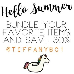 Other - COME BUILD UR BUNDLE FOR 30% OFF + SAVE ON SHIP❣️